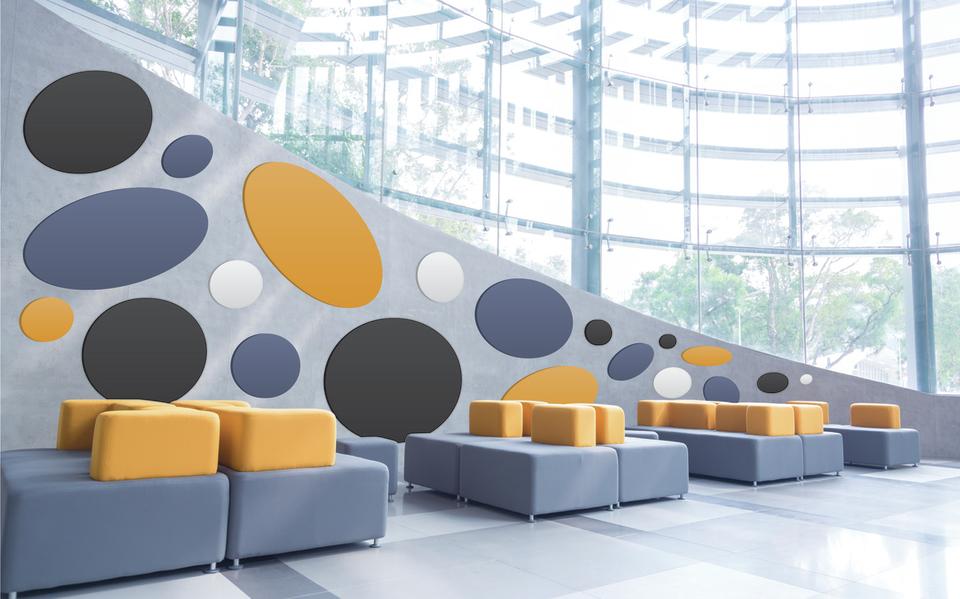 Geluiddempende Panelen Woonkamer : Plafond wandpanelen dox acoustics